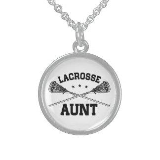 Lacrosse Aunt Sterling Silver Necklace