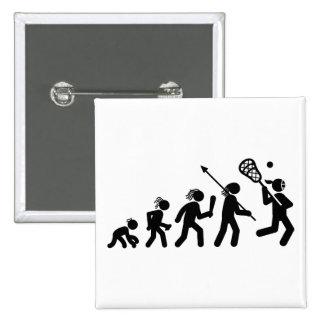 Lacrosse 15 Cm Square Badge