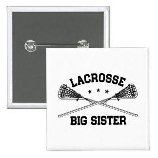 Lacrosse Big Sister 15 Cm Square Badge