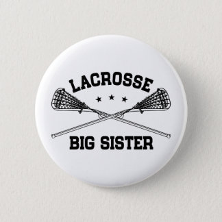Lacrosse Big Sister 6 Cm Round Badge