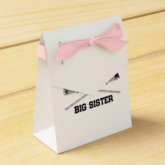 Lacrosse Big Sister Favour Box
