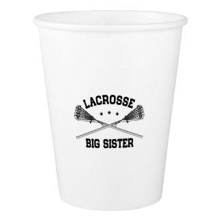 Lacrosse Big Sister Paper Cup