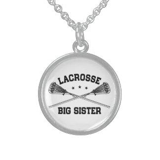 Lacrosse Big Sister Sterling Silver Necklace