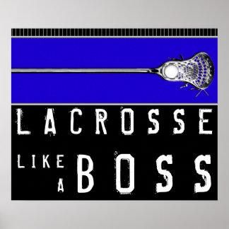 Lacrosse Boss Poster