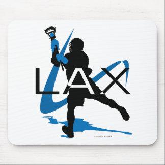 Lacrosse Boys LAX Blue Mouse Mat