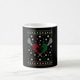Lacrosse Christmas Coffee Mug