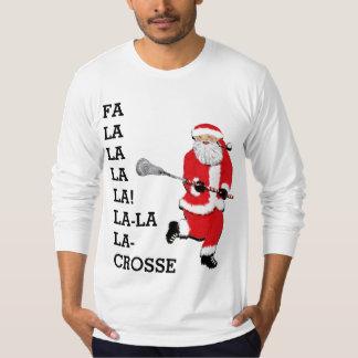 Lacrosse Christmas T-Shirt