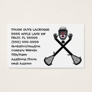 Lacrosse Coach Business Card