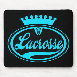 Lacrosse Crown Mouse Pad