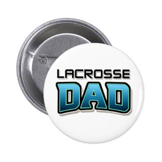 Lacrosse DAD 6 Cm Round Badge
