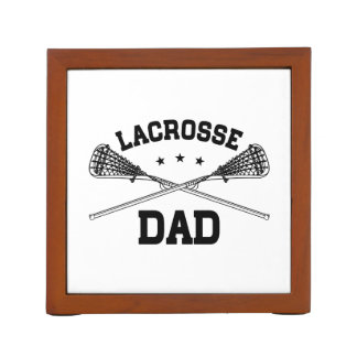 Lacrosse Dad Desk Organiser