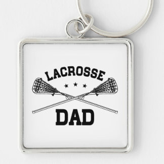 Lacrosse Dad Key Ring