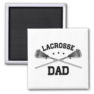 Lacrosse Dad Magnet