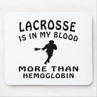 Lacrosse Design Mouse Pad