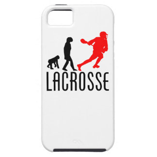 Lacrosse Evolution (Red) iPhone 5 Covers