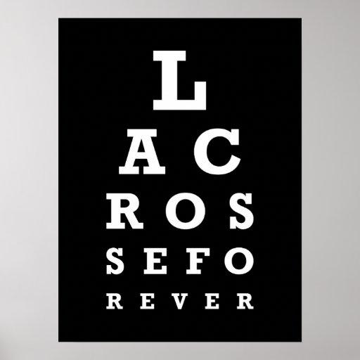 Lacrosse Forever Poster