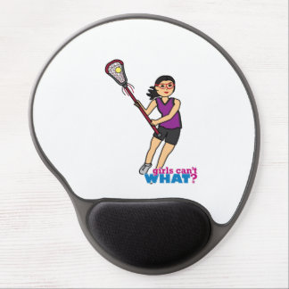 Lacrosse Girl - Medium Gel Mousepad