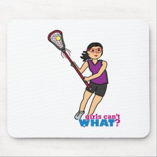 Lacrosse Girl - Medium Mouse Pad