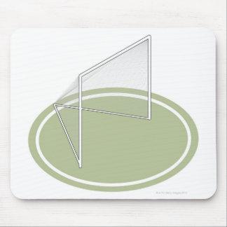 Lacrosse goal mouse pad