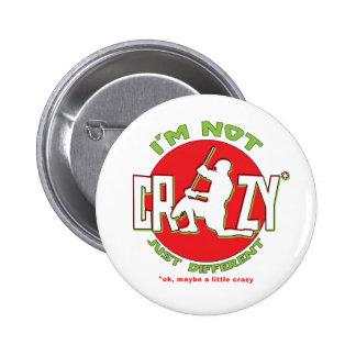 Lacrosse Goalie Design Pin