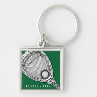 Lacrosse Goalie Key Ring