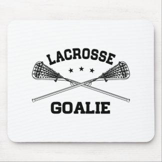 Lacrosse Goalie Mouse Pad