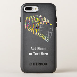 Lacrosse Goalie Quote Otterbox OtterBox Symmetry iPhone 8 Plus/7 Plus Case
