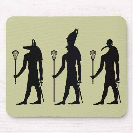 Lacrosse Gods Mouse Pad