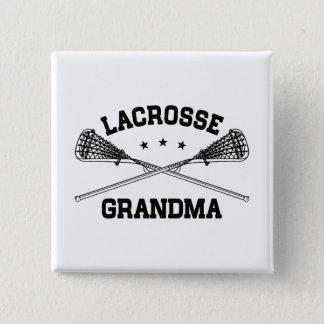Lacrosse Grandma 15 Cm Square Badge