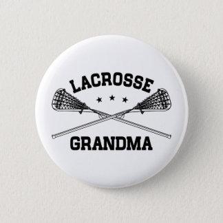 Lacrosse Grandma 6 Cm Round Badge