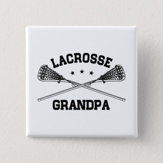 Lacrosse Grandpa 15 Cm Square Badge
