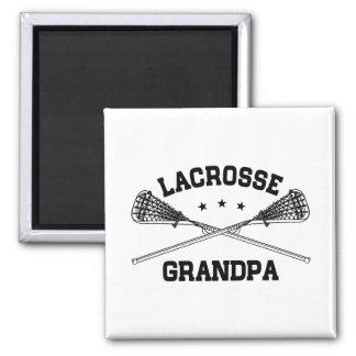 Lacrosse Grandpa Magnet