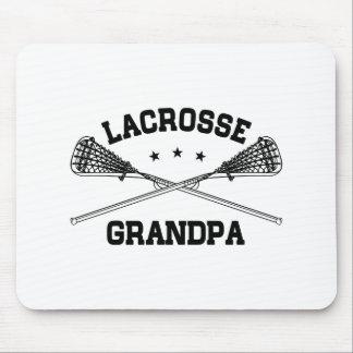 Lacrosse Grandpa Mouse Pad