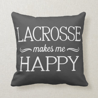 Lacrosse Happy Pillow - Assorted Styles & Colors