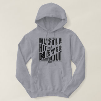 Lacrosse, Hustle Hit Never Quit Hoody