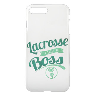 Lacrosse Like a Boss Clear iPhone Cover