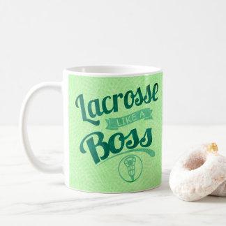 Lacrosse Like A Boss Coffee Mug
