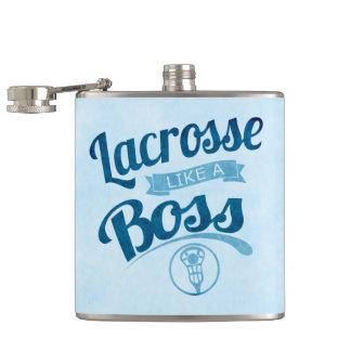 Lacrosse Like A Boss Hip Flask