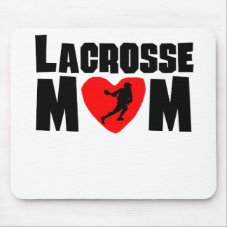 Lacrosse Mom Mouse Pads