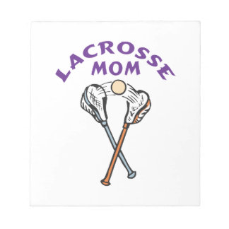 LACROSSE MOM NOTEPAD