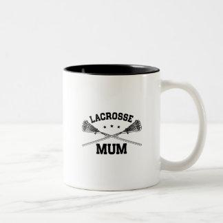 Lacrosse Mum Two-Tone Coffee Mug