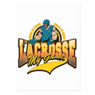 Lacrosse My Game Postcard