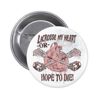 Lacrosse My Heart Lax Gear Buttons