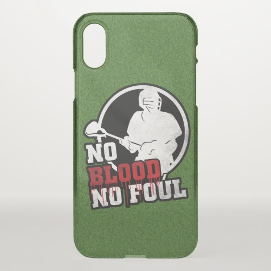 Lacrosse No Blood No Foul Phone Cover