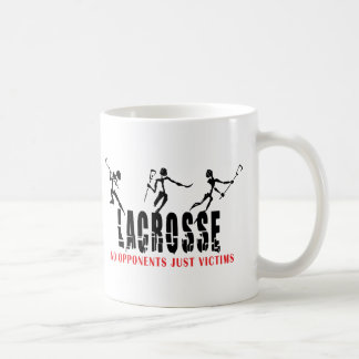 Lacrosse No opponents Just Victims T-Shirts Gifts Coffee Mugs