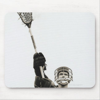 Lacrosse Player 3 Mouse Pad