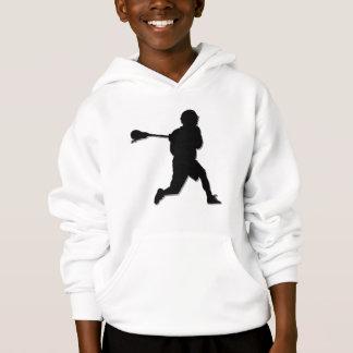 Lacrosse Player Kid's Hoodie