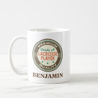 Lacrosse Player Personalized Office Mug Gift