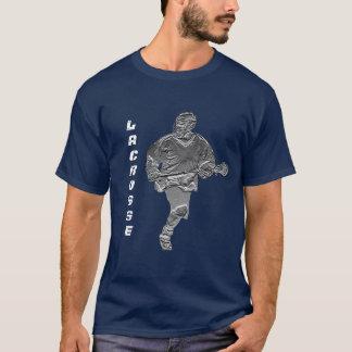 Lacrosse Player T-shirt Customizable