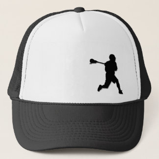 Lacrosse Player Trucker Hat